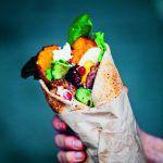 The Green Kitchen at Home: Midden-Oosterse wraps met zoete aardappel