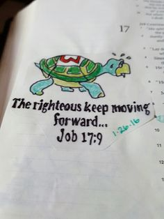 Bible journaling job 17