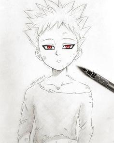 Ban the Ban, Ban, Ban of the seven deadly sins - Ban the Ban, Ban, Ban of the seven deadly sins - Naruto Drawings, Anime Drawings Sketches, Anime Sketch, Manga Drawing, Manga Art, Anime Chibi, Kawaii Anime, Manga Anime, Manga Eyes
