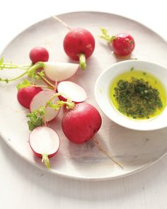 Radishes with Olive Oil