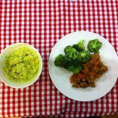 #dinner #keto #lowcarb #broccoli #grassfedbeef #avocato #pecans by _joao_420