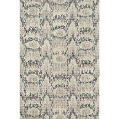 Alexander Home Transitional Mosaic Blush Hand-hooked Rug