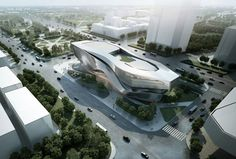 Dalian Museum Competition Design Concept by 10 Design