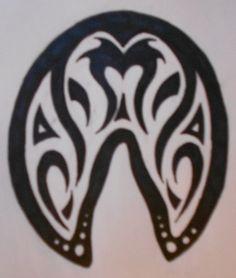 horse hoof tattoo