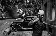 Koudelka - Invasion 68 Dark Landscape, Visit Prague, Prague Czech Republic, August 21, My Heritage, Cold War, Joseph, Monochrome, Cool Photos