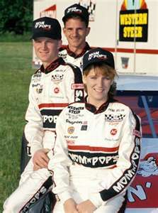 Kerry, Dale, Jr. and Kelley Earnhardt