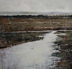 Claire Wiltsher - Contours. Oils m/m on canvas, 24x24 in (via Artpropelled )