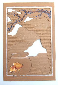 Cardboard.  CARDBOARD. fanta-yland