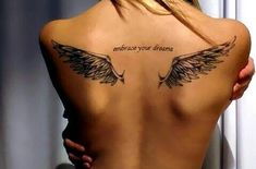 angel, art, creative, design, dreams, ink, tattoo, wings