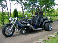 Custom Trike Shop { specializing in custom V8 trikes }