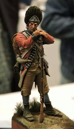 Miniature soldier, hand-painted