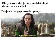 Funny Picture Quotes, Funny Pictures, Polish Memes, Dark Sense Of Humor, Funny Mems, Quality Memes, Wtf Funny, Reaction Pictures, Good Mood
