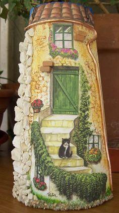il gattino sulla scala