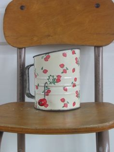 strawberry flour sifter - I have my great grandma's just like this
