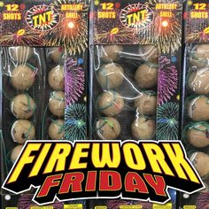 It's Firework Friday!  Have a great weekend and visit TNTFireworks.com to find reloadables and more!  #FireworkFriday #Friday #TNTFireworks