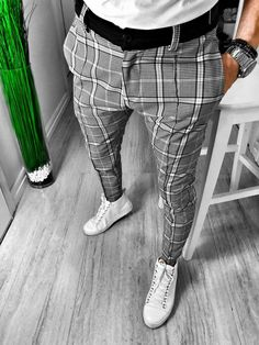 mens fashion, mens trousers, mens clothing, clothing for men is part of Sneakers men fashion - Slim Fit Dress Pants, Mens Dress Pants, Men Dress, Trousers Mens, Pants Outfit, Boyfriend Jeans Kombinieren, La Mode Masculine, Herren Outfit, Outfit Trends