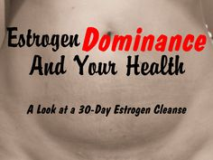 Estrogen Dominance and Your Health - Do you feel sluggish? Have trouble losing weight? Are your menstrual cycles unbearable? Then you could be suffering from estrogen dominance. Endometrial Hyperplasia, Lower Estrogen Levels, Health And Wellness, Health Tips, Estrogen Dominance, Hormone Replacement Therapy, Natural Estrogen Replacement, Thyroid Health, Gut Health