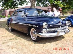 1950 Mercury Sedan.  My Dad's car when I was little.