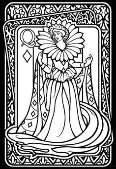 1000 images about coloring pages playing cards on for Playing cards coloring pages