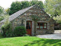 Inglenook & Garden Cottage: Romantic Hideaways In Secluded Quiet Location Dog Friendly Holidays, Cornwall Cottages, House Styles, Garden Cottage, Stone, Cabins, House Ideas, Houses, Romantic
