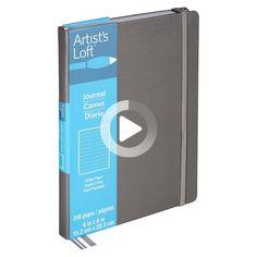 Gray Dot Journal By Artist's Loft™ | #bulletjournal Birthday Bullet Journal, Bullet Journal Notebook, Pinterest Website, Journal Covers, Dots, Gray, Artist, Scribble, Thoughts