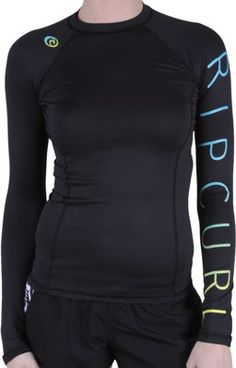 Rip Curl Sunset Beach L/S Women's Rash Guard - black - Surf Shop > Women's Surf > Women's Wetsuits > Women's Rash Guards