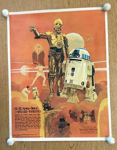 Original movie poster for Star Wars Published by Burger King and Coca-Cola in 18 x 24 inches. Light handling marks and corner bend. Artwork by Del Nichols Art Burger, Star Wars Episoden, Marvel, Star Wars Poster, Movie Wallpapers, Phone Wallpapers, A New Hope, Harrison Ford, Sci Fi Art