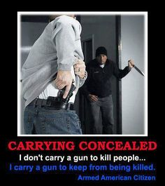 Carry Concealed. Support the Second Ammendment ~@guntotingkafir GOD BLESS AMERICA AND GOD BLESS PRESENT TRUMP!!! #2A