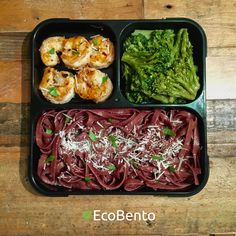 Shrimp Scampi | Broccoli | Wine Pasta