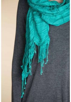 Type 2 Scrunched Love Scarf