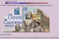 Chinese Immigration – The Chinese in California, 1850-1925   TCI TeacherGenius