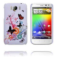 Valentine (Blandade Cirklar & Fjärilar) HTC Sensation XL-Skal