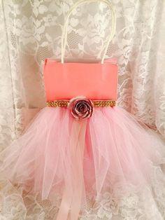 Princesa fiesta bolsa Favor bolsa de los por MemoryKeepsakeParty