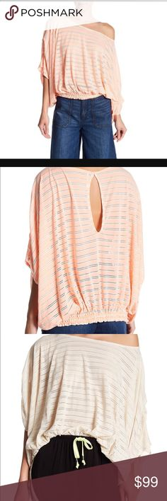 Free People! Gorgeous. NWT Sorry adorable. Perfect Free People Tops