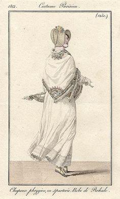 Shawl 1812 costume parisien