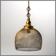 KEIRA XLARGE GOLD PENDANT H40D29cm