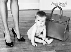 Louboutin and Hermes Birkin Baby
