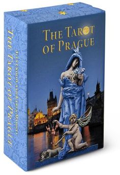 The Tarot of Prague standard size.