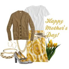 16 Beautiful Polyvore Combinations To Look Great On Mother's Day - Fashion Diva Design