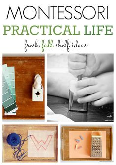 Fall Practical Life Shelves