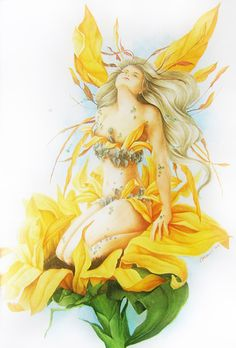 Summer Fairy by Aramisdream on deviantART