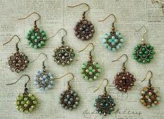 Linda's Crafty Inspirations: Video Tutorial - Nunzia's Easy Earrings