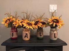 Custom Fall mason jars | Etsy
