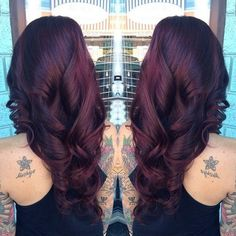 Going to dye my hair this colour black cherry #blackcherry #hair #colour #dye #love