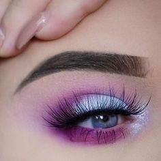 Pink and Purple Eye Makeup Looks 11