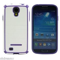 Body Glove Nova Phone Case For Samsung Galaxy S4 S 4 White/Purple