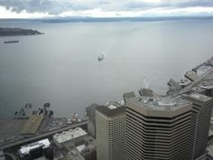 The 900-foot view from the Columbia Tower, highest public view west of the Mississippi. :)