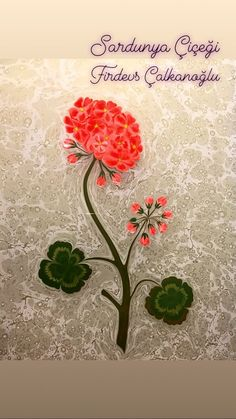 Sardunya Çiçeği- Geranium flower by Marbling Artist Firdevs Çalkanoğlu Sketches, Mughal, Wallpaper, Illustration, Marble Art, Turkish Art, Fashion Sketches, Art, Ebru Art