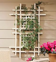 Trellis Design Ideas: Wall-mount Trellises
