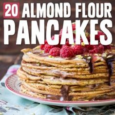 In the Paleo style of eating, we're often encouraged to go for hearty, non-sweet breakfasts like eggs, bacon, and vegetables. But sometimes you really just need a pancake, right? Almond flour pancakes are a great way to get a low-carb, protein-heavy breakfast into your belly first thing in the...